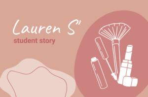 Lauren's makeup story